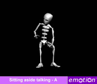emo0006-Sitting aside talking - A
