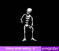 emo0006-Sitting aside talking - A