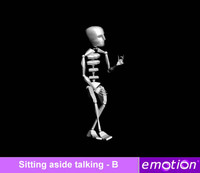 emo0006-Sitting aside talking - B