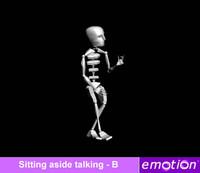 emo0006-Sitting aside talking - B