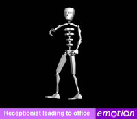 emo0007-Receptionist leading to office