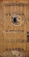 Wood Plank  Door Texture