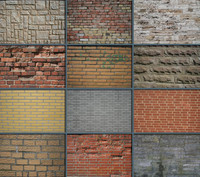 bricks collection (34 different bricks)