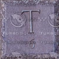 Metal Plaque Texture