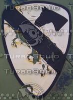 worn-insignia texture