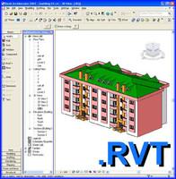 Revit building model 01