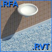 revit plumbing fixtures sink 04 2D&3D