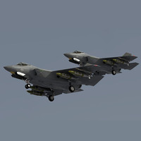F-35 CF-1 Lightning II (low polygon) preview