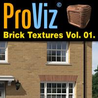 3dRender Pro-Viz Brick Wall Vol. 01