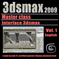 Video Master Class 3dsmax 2009 Vol.1 english