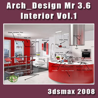 Arch e Design collection vol.1 Mental ray 3.6