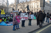 Tamil protest in London 31Jan2009