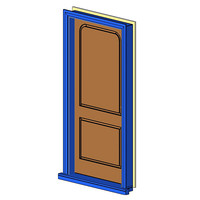 Ext Single-In Timber-2Panel-Rnd (NZ)