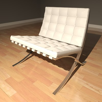 Furniture Chair Barcelona_Render01.png