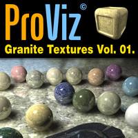 3dRender Pro-Viz Granite Vol. 01