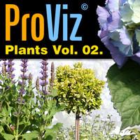 3dRender Pro-Viz Plants Vol. 02