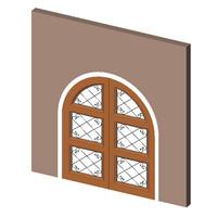 Portofino Model 309 Double Glass Door