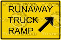 Runaway Truck Ramp Sign