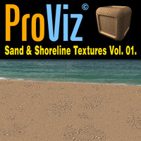 3dRender Pro-Viz Sand & Seashore Vol. 01