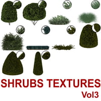 Cut-out Shrubs Vol3