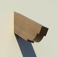 Corbel - Timber - Slope