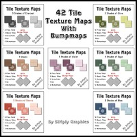 Tile Collection - 7 Combined Sets