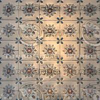 Tiles ArtNouveau Floral