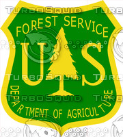 US Forest Service Sign