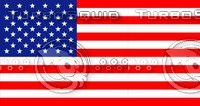High Resolution USA Flag Texture