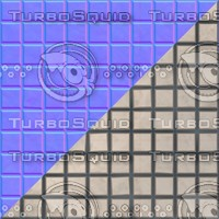 Bathroom tiles with normal map