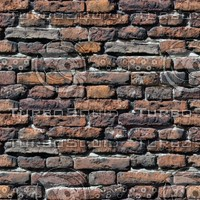 Worn Brick Wall