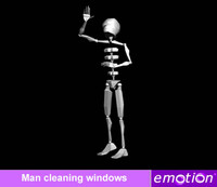 emo0007-Man cleaning windows