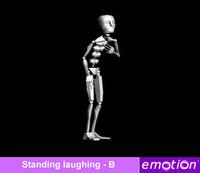 emo0007-Standing laughing - B