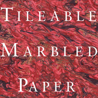 Tileable Marbled Paper Texture Set