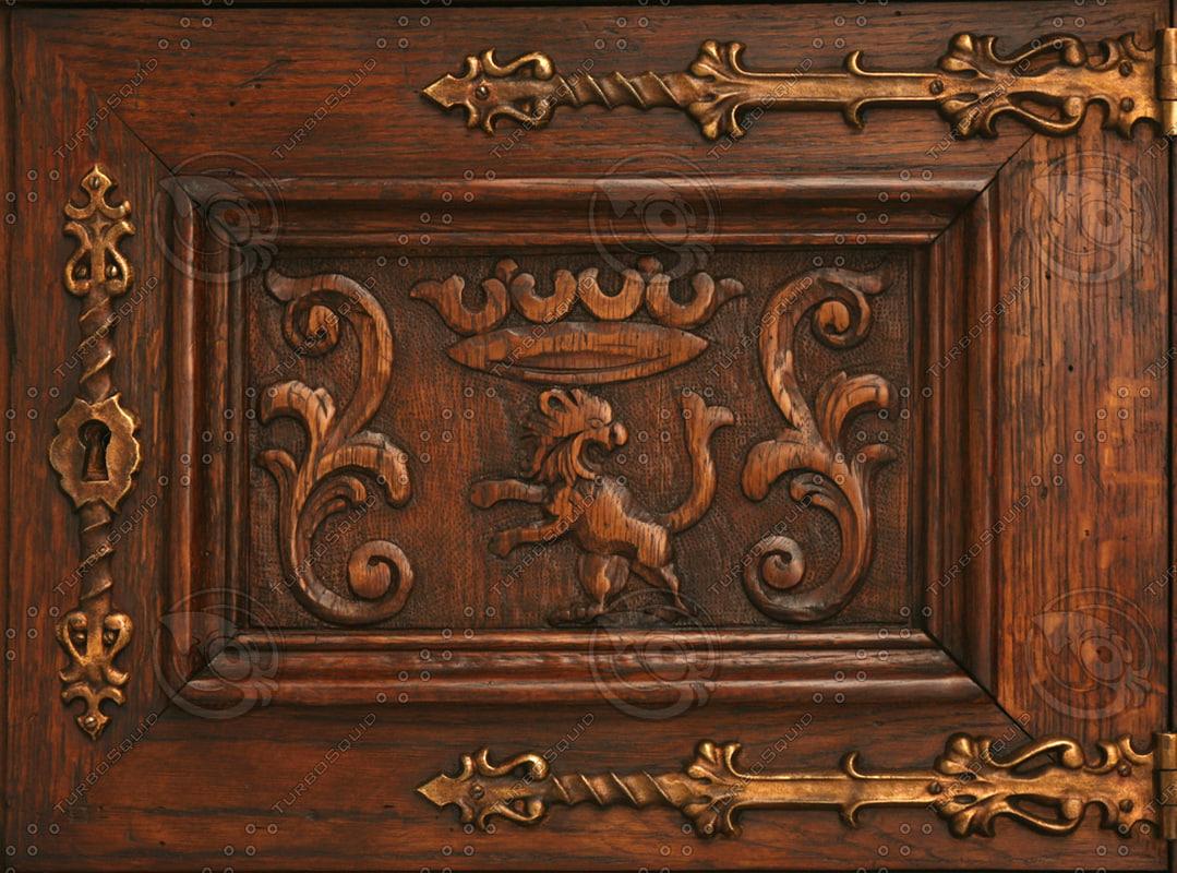 Texture jpg decorative door panel