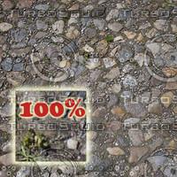 gravel pavement
