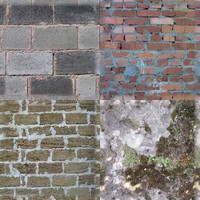 4 wall tiling texture pack