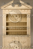 White Classical Cabinet Texture