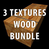 3 Wood Bundle Textures