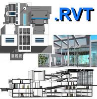 Revit Culture Centre 01