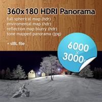 Hi Res Spherical HDRI map [P006] [6000x3000px]