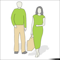Character Man and Woman 00950se