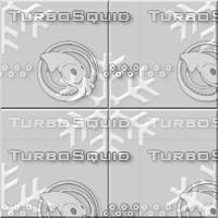 Seamless Tile w/ Snow Flake
