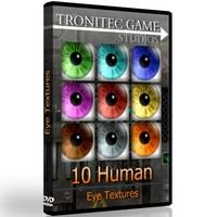 10 Human Eye Textures