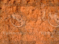 Reddish brown  soil  wall 20090107 055