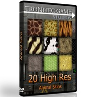 20 High Res Animal Skins
