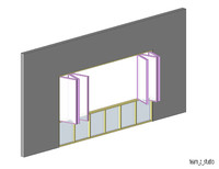 Bi-Fold Curtain Wall (Window)