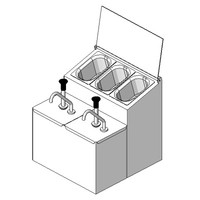 APW Wyott CSS-DTS-N Condiment Dispenser