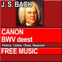 J.S. BACH - CANON BWV deest