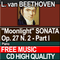 "L. van BEETHOVEN - ""Moonlight"